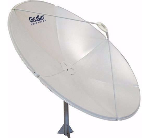 Antena Parabólica C Ku 180 + Lnbf Estendida + Suporte Lnb