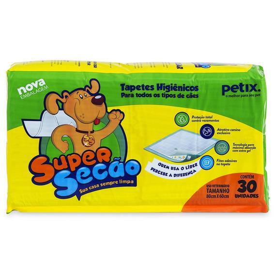 Super Secão Tapete Higiênico Para Cachorro - 30 Unidades