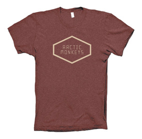 Arctic Monkeys Playera Tranquility Base Rock Brit Pop