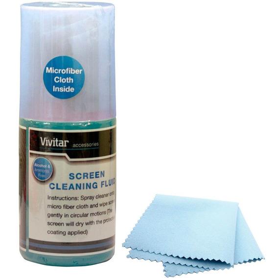 Vivitar Kit De Limpeza Vivlcd811pdq Para Tela De Lcd
