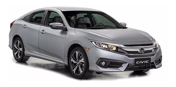 Kit 14 Lâmpadas Led New Civic 2017 Faróis Ré Interno Premium