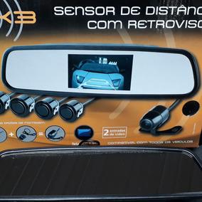 Retrovisor Com Sensor De Estacionamento E Câmera De Ré