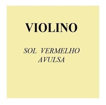 Corda Sol Avulsa Para Violino 4/4 Mauro Calixto