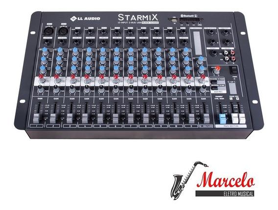 Mesa De Som Mixer Starmix S1202d Bt