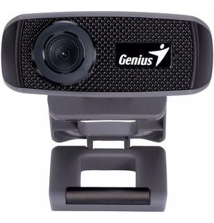 Cámara Web Genius Facecam 1000x Webcam Hd 720p, Chat / Skype