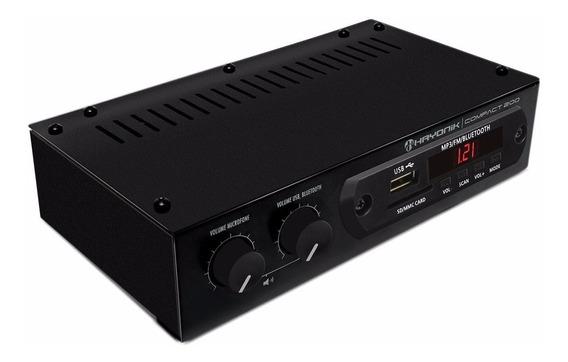 Amplificador Hayonik Compact200 20w C/fm Usb Bt