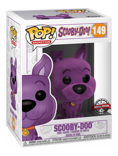 Funko Pop Scooby Doo 149 Flocked Purple Exc Edicion Limitada