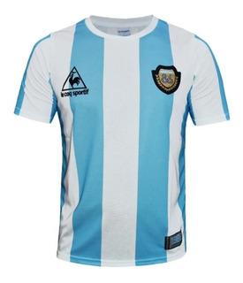 Remera Argentina Mundial Mexico 86 Maradona 10 - Olivos