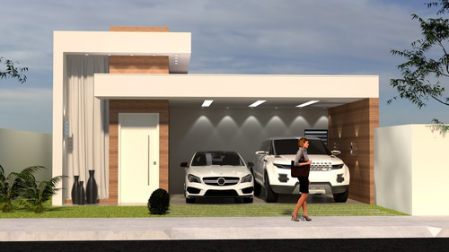 Imagem 1 de 8 de Projeto Arquitetônico 3qtos + Hidráulico + Elétrico | #ea145