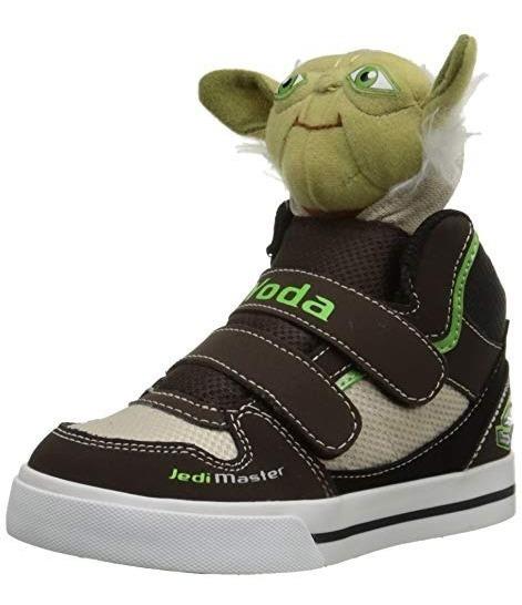 Tenis Skechers Stars Wars Yoda Nuevos 11 Mex Envio Gratis