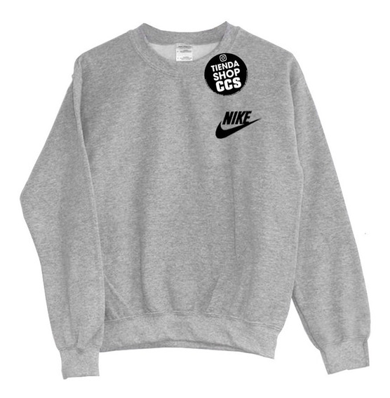 Sweater Nike Sueter Nike Sin Capucha Algodón Dama Caballero