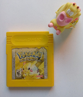 Pokémon Yellow Pikachú Edition Game Boy Color Gbc :)