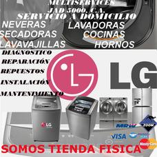 Servicio Técnico Lg Samsung Lavadora Secadora Nevera Repuest
