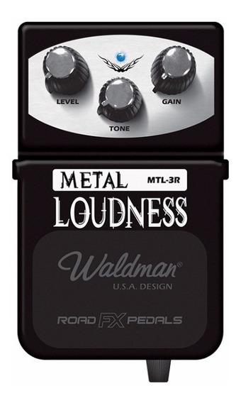 Pedal De Guitarra Distorção Waldman Mtl-3r Metal Loudness