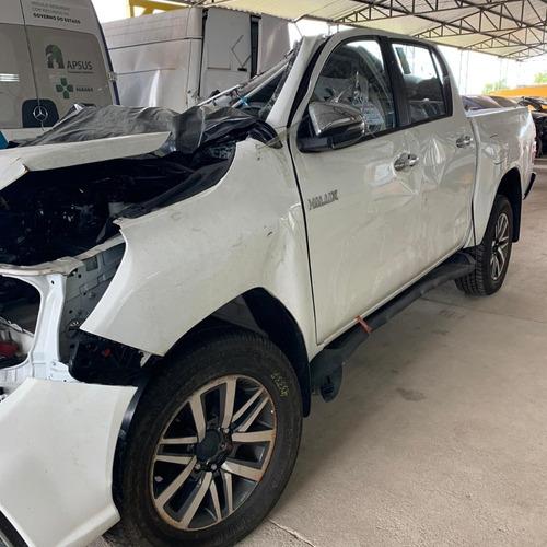 Sucata De Toyota Hilux 2.8 4x4 2018 Srv Para Retirar Peças