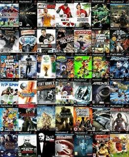 Lote Juegos Playstation 2 Todos Los Titulos Combo X 10 Unid
