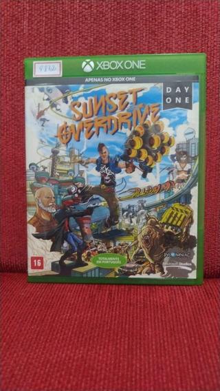 Sunset Overdrive Xbox One Mídia Física Usado R.9872