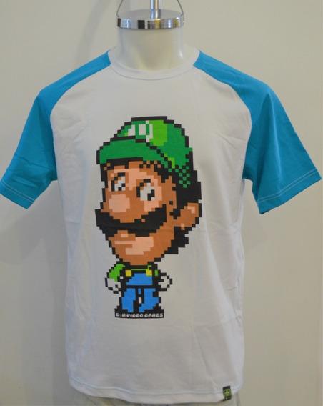 Playeras Mario Bros, Megaman / Cuello Redondo / Manga Corta