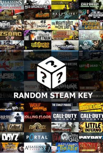 Imagen 1 de 1 de Steam Random Key | Juego Aleatorio - Entrega Inmediata