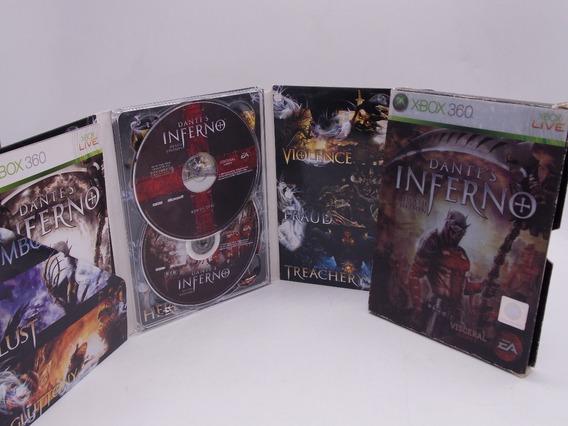 Dantes Inferno Death Edition Xbo 360 Original Mídia Física
