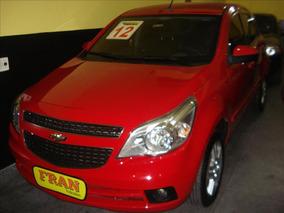 Chevrolet Agile Ltz Motor 1.4 2012 Vermelho