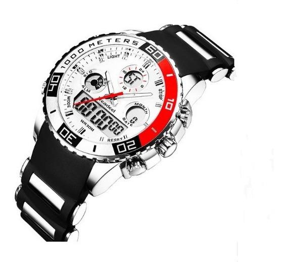Relógio Pulso Readeel Masculino 7001 Luxo Barato Militar