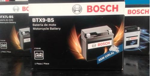 Batería Para Moto, Marca Bosch :btx9 -bs