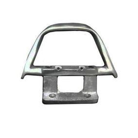 Alça Traseira Titan 2000 A 2000/2004 125 Alumínio Polido