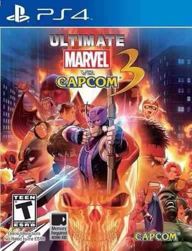 Ultimate Marvel Vs Capcom 3 Ps4 1ª Digital Psn