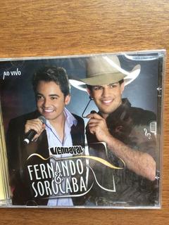 Cd Fernando & Sorocaba/vendaval Ao Vivo Lacre De Fábrica, Or