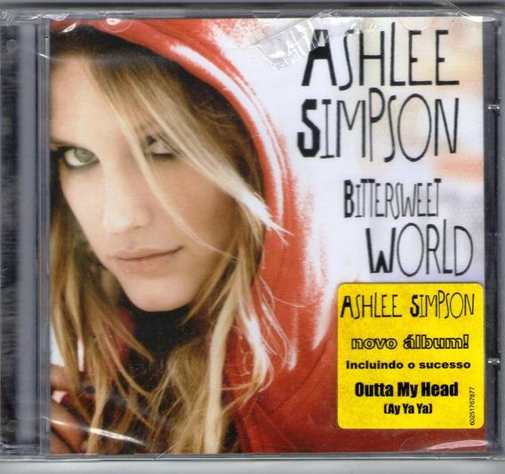 Cd Ashlee Simpson Bitterweet World Original Lacrado