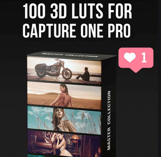 +100 3d Lut Profiles For Capture One Pro