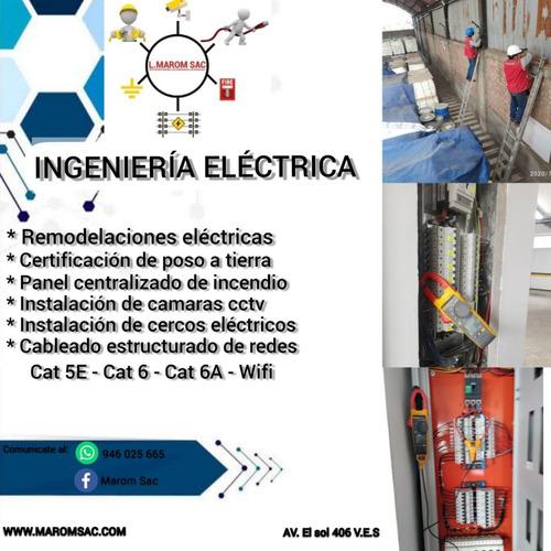 Técnico Electricista Redes Y Comunicación