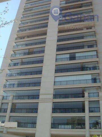 Apartamento Mobiliado Com 159m2 04 Dormts, 03 Vagas E Depósito, Com Ou Sem Mobilia Na Chácara Santo Antonio - Ap5879