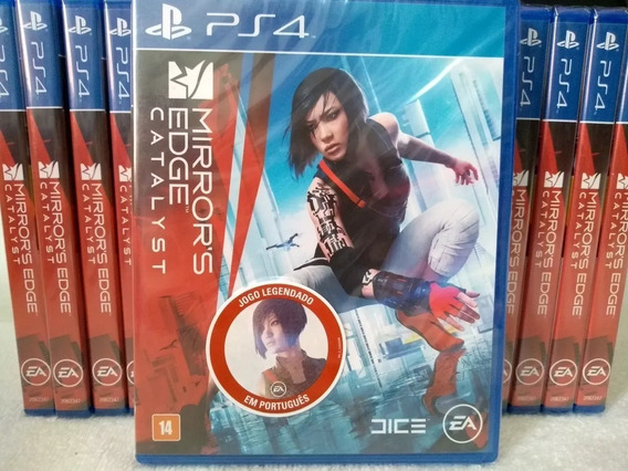 Mirrors Edge Catalyst Ps4 Mídia Física Novo Lacrado+brinde