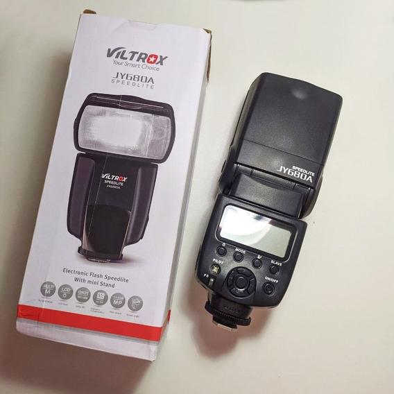 Flash Para Canon Speedlight Jy680a Novo