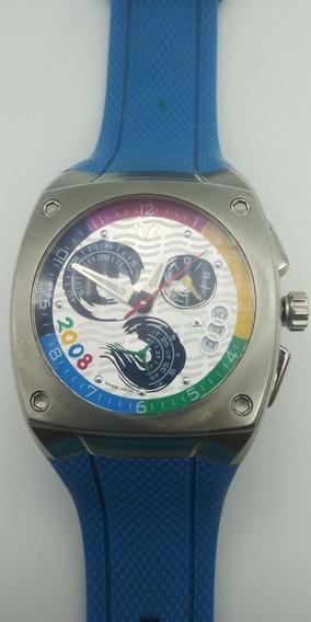 Reloj Techno Marine Kra 808001 Edición Juegos Olímpicos 2008