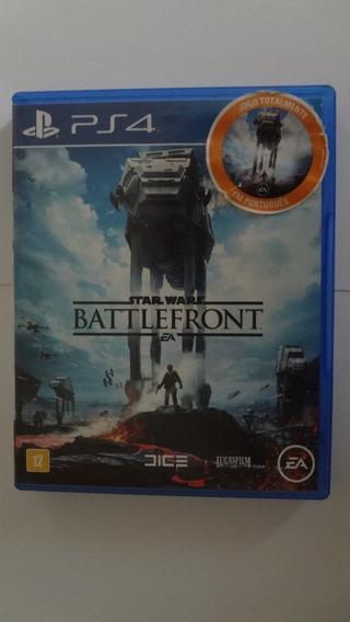 Star Wars Battlefront Ps4 - Mídia Física - Usado