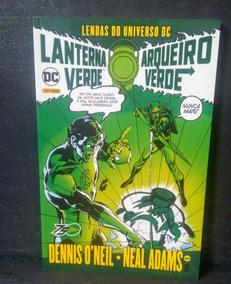 Lendas Do Universo Dc Lanterna Verde E Arqueiro Verde 01