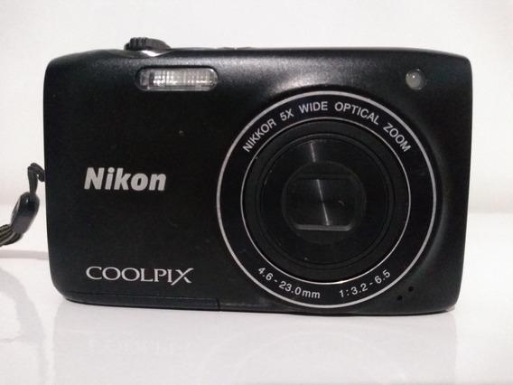 Máquina Tirar Foto Nikon Coopix
