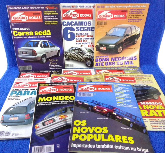 Quatro Rodas Lote Revista(11) N°420,417,425,424,422...