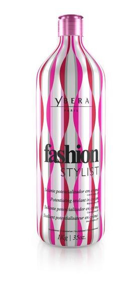 Escova Progressiva Ybera Fashion Stylist Alisa Muito Sem Formol Vegano Natural Não Arde Os Olhos Alisa Afro.
