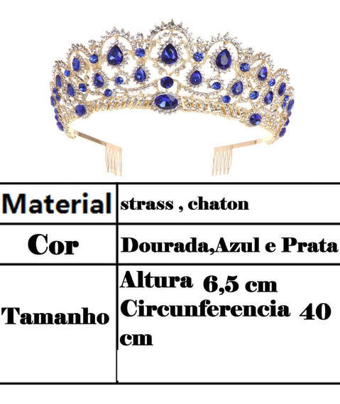 Coroa De Miss Concurso Strass Noivas Debutantes Concursos #1