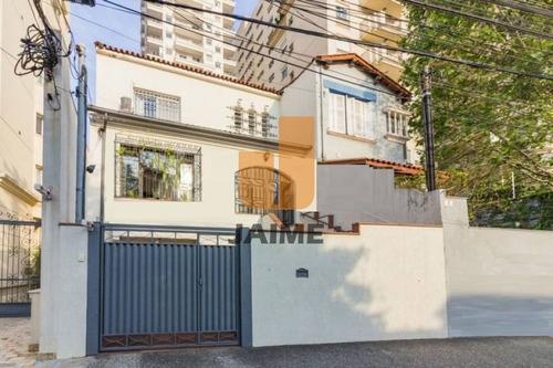 Casa Assobradada Para Venda No Bairro Higienópolis Em São Paulo - Cod: Ja7969 - Ja7969