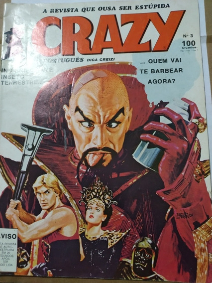 Revista Crazy Edit. Saverio Fittipaldi N° 3 De 1982