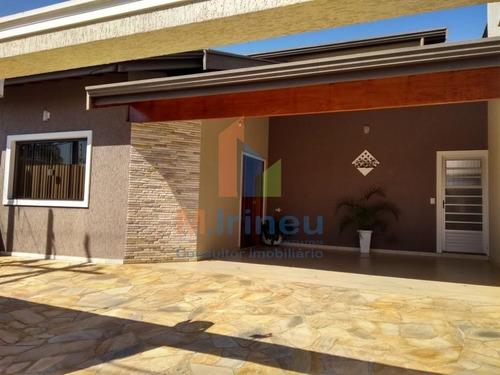 Casa Com 3 Dormitórios À Venda, 168 M² Por R$ 490.000,00 - Parque Via Norte - Campinas/sp - Ca0092