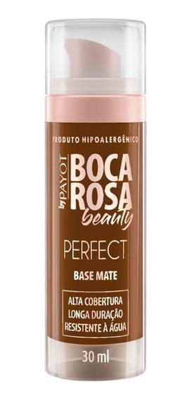 Base Mate Perfect Boca Rosa Beauty Payot Cor 8 Fernanda 30ml