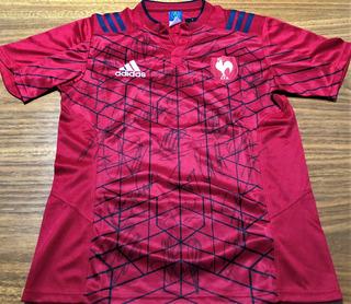 Camisa França Rugby Autografada 21 Jogadores Atuais