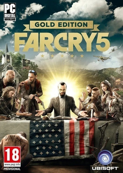 Far Cry 5 Gold Edition - Mídia Digital - Pc + Brinde