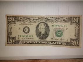 Cédula De 20 Dollar Ano 1981 Raridade,dollar,cédula Antiga